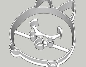 Tsum Tsum Piglet Cookie Cutter 3D print model