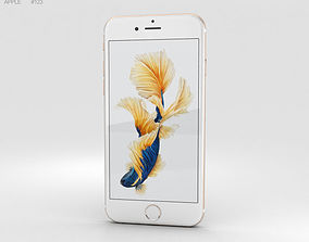 3D Apple iPhone 6s Gold