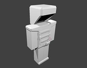 3D model Armor For Minecraft Bulat