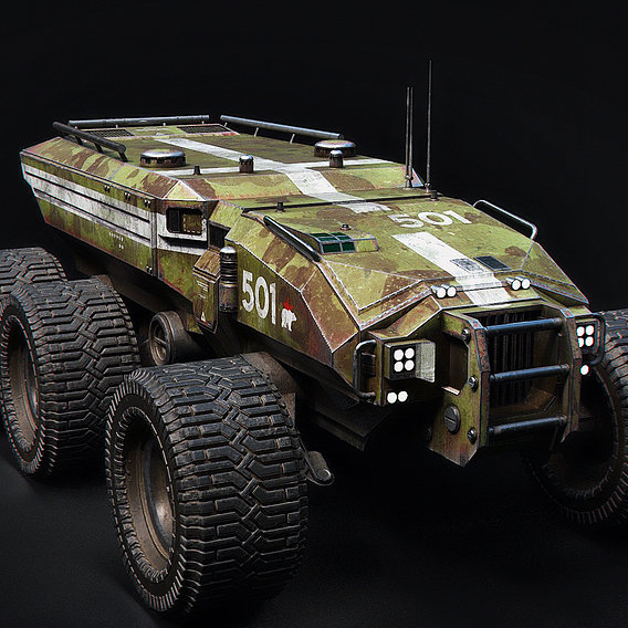 Technical Vehicle transporter Source Files Attached