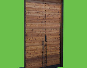 3D model Wooden Door photogrammetry