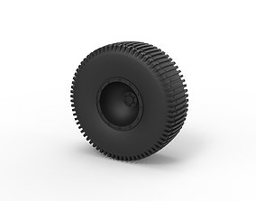 Diecast Offroad wheel 28 3D printable model