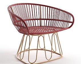 Circo Lounge Chair 3D model