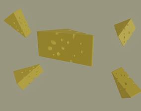 3D asset Swiss Cheese