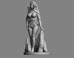 3D printable model Elf Girl