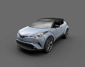 3D asset Low Poly Car - Toyota C-HR 2017