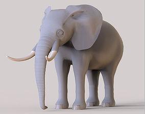 Elephant 3D model realtime