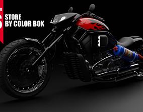 BEST HEAVY MOTOR BIKE 3D model