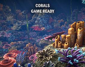 3D asset Corals