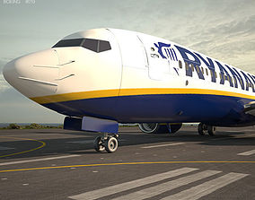 3D model Boeing 737-800