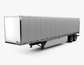 3D model Utility 4000D-X Composite Wall Semi Trailer 2014