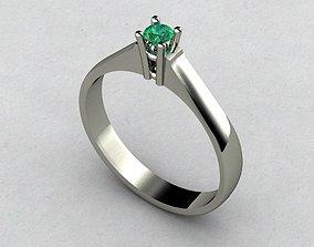 3D print model engagem rings