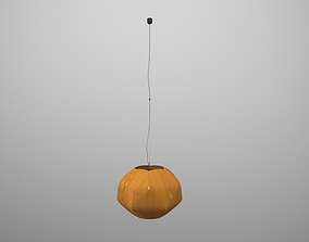 3D model animated hanging lamp