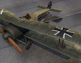 Fokker D-V - D-5 3D