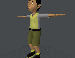 3D model game-ready Jumono