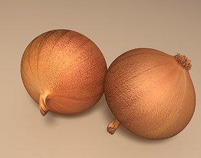 vegetable Onion 3D model