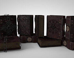 3D asset Grimoire A book of magic