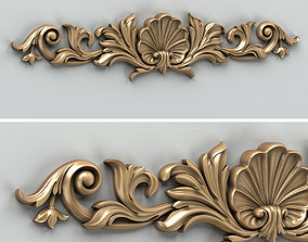 3D Carved decor horizontal 016