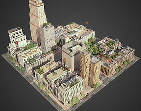 3D model City District A21-A26