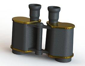 Russian army binoculars of 1914 3D printable model