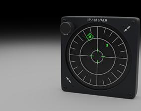 F16 Radar Warning Receiver - RWR 3D