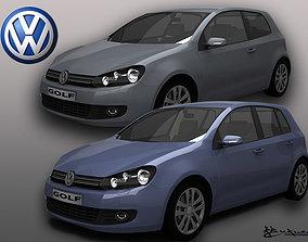 Volkswagen Golf VI Pack1 3D