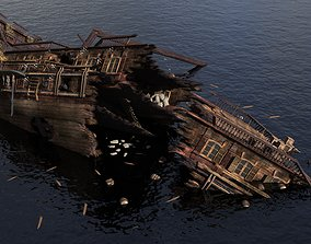 Ancient Chinese Shipwreck 3D
