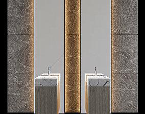 3D LUXURY - Wash Basin 11