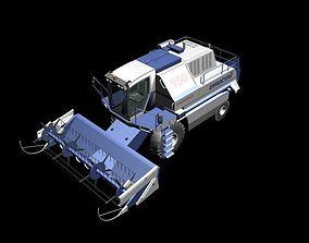 Yenisei-950 combine 3D asset