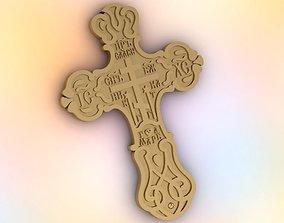 Orthodox male cross 3D printable model