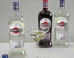 Martini Set 3D