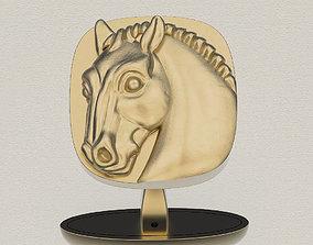 hobbyhorse CuffLinks Horse 3D printable model