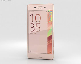 3D Sony Xperia X Rose Gold