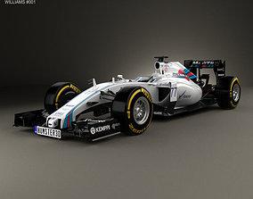 3D Williams FW37 2015