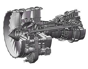 SolidWorks cfm56-7b Complete model