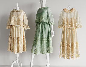 3D dress mannequin hanger wardrobe shop boutique salon