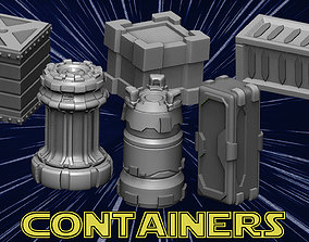3D printable model Containers