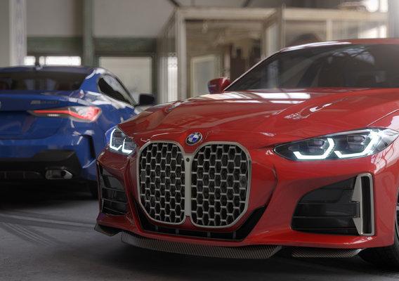 BMW M440i coupe 2021 3dmodel