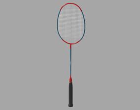 3D model Badminton racket