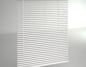 Window Blinds 3D asset low-poly