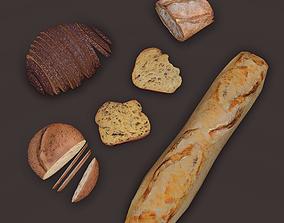3D model Breads Pack