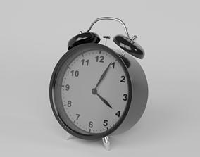 Analog Alarm Clock 3D asset