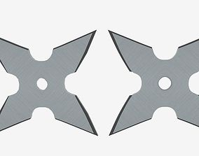 Mourning Star Ninja Shuriken 3D model