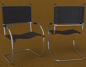 Cantilever Tube Chair 3D