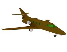 3D model AIRCRAFT FALCON10