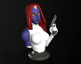 Bust Posed - Mystique 3D print model