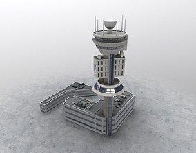 LIMC Control Tower 3D model