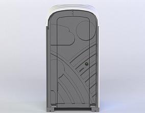 PORTA-LOO 3D MODEL game-ready