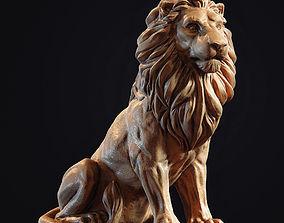 Lion Sculpture 3d print model download