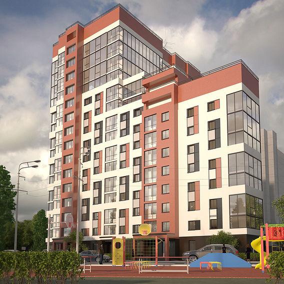 multi-storey residential house
